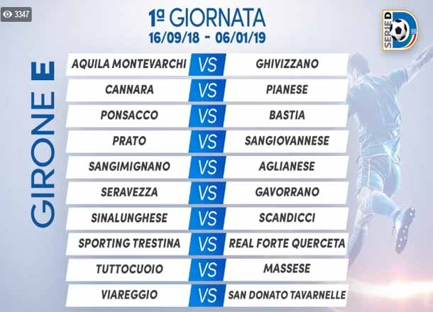 Serie D Girone H Calendario.Serie D Tutto Il Calendario Scarica Il Pdf Dell Intera